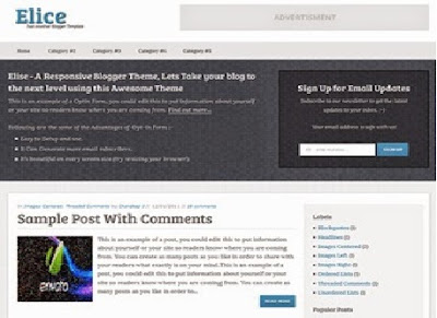 Elice Blogger Template – Old