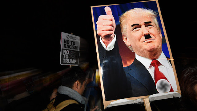 """""""Haz EE.UU. blanco de nuevo"""": se expande el vandalismo racista tras la victoria de Trump"""