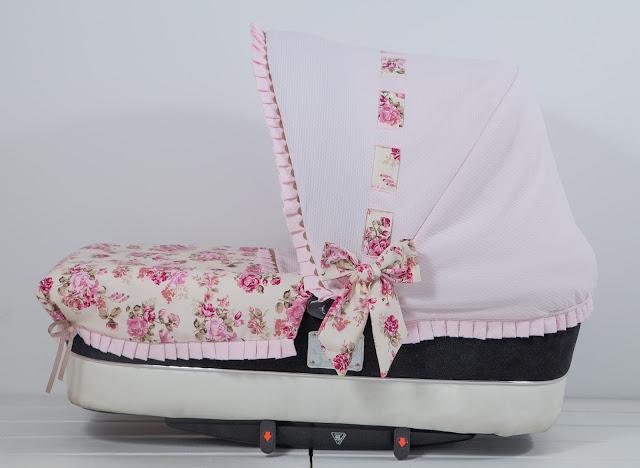 capota bebecar rosa