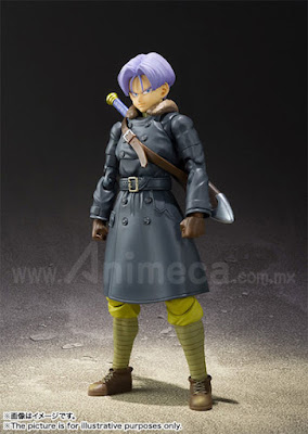 Figura Trunks XENOVERSE Edition S.H.Figuarts Dragon Ball Z