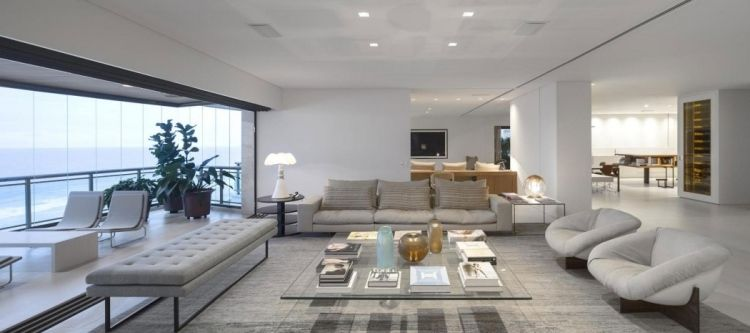 Salones modernos con mucha iluminaci n salas con estilo - Iluminacion salones modernos ...
