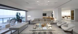 sala moderna y amplia