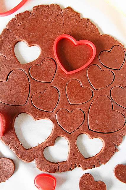 How to Make Valentine Chocolate Sugar Cookies image