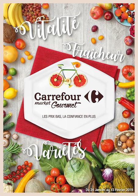 catalogue carrefour gourmet maroc janvier fevrier 2019