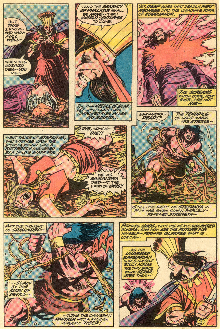 Conan the Barbarian (1970) Issue #51 #63 - English 17