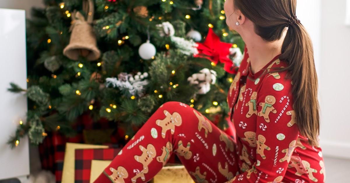 Gingerbread Onesie Holiday Pajamas