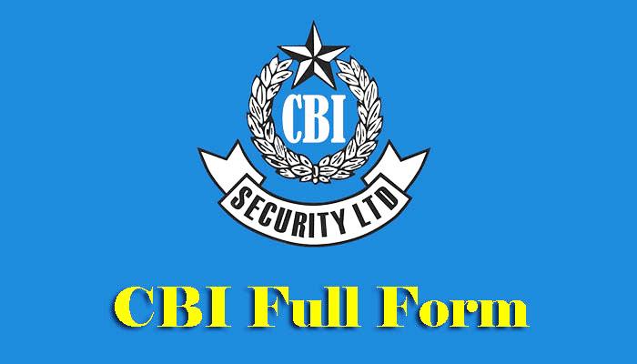 CBI Full Form in Hindi – सीबीआई क्या है?