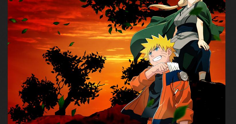 Gambar Wallpapers Naruto Keren Untuk Laptop Smartphone: Gambar Wallpaper Naruto Keren Cocok Untuk HP Ponsel Laptop
