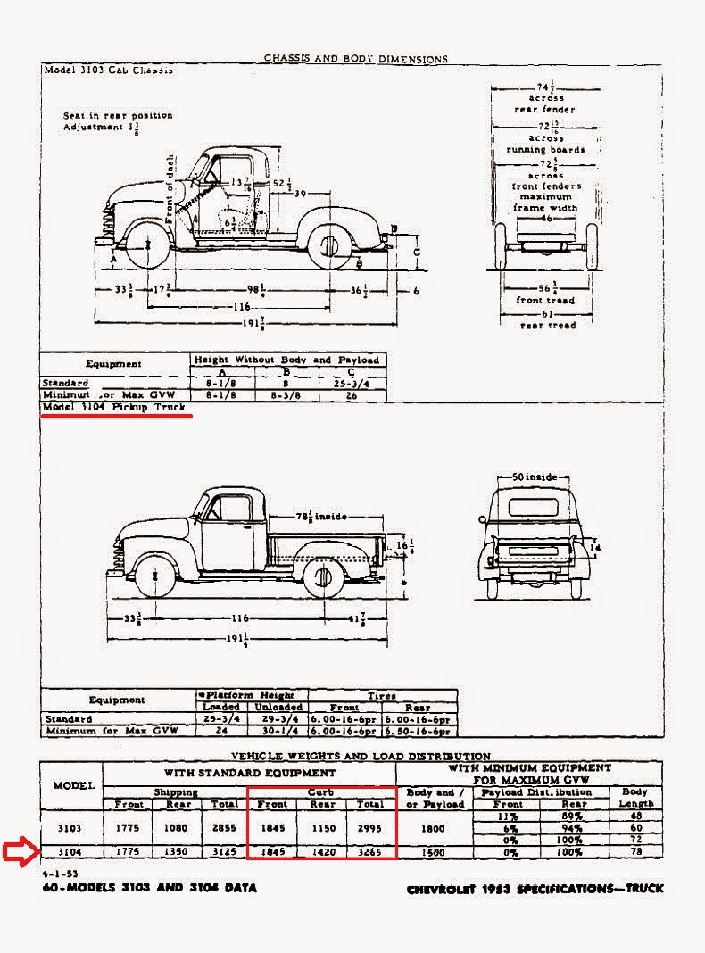 1953 Chevy Truck Wiring Schematics Gray Ghost 3100 Technical Information Page Chassis Diagram