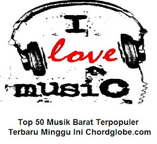 Top 50 Lagu Barat Terbaru dan Terpopuler Minggu Ini