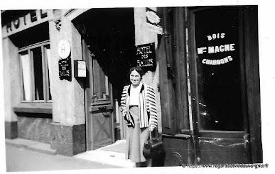 Photo noir et blanc : Hôtel des Familles