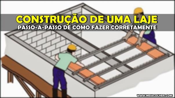 construção laje
