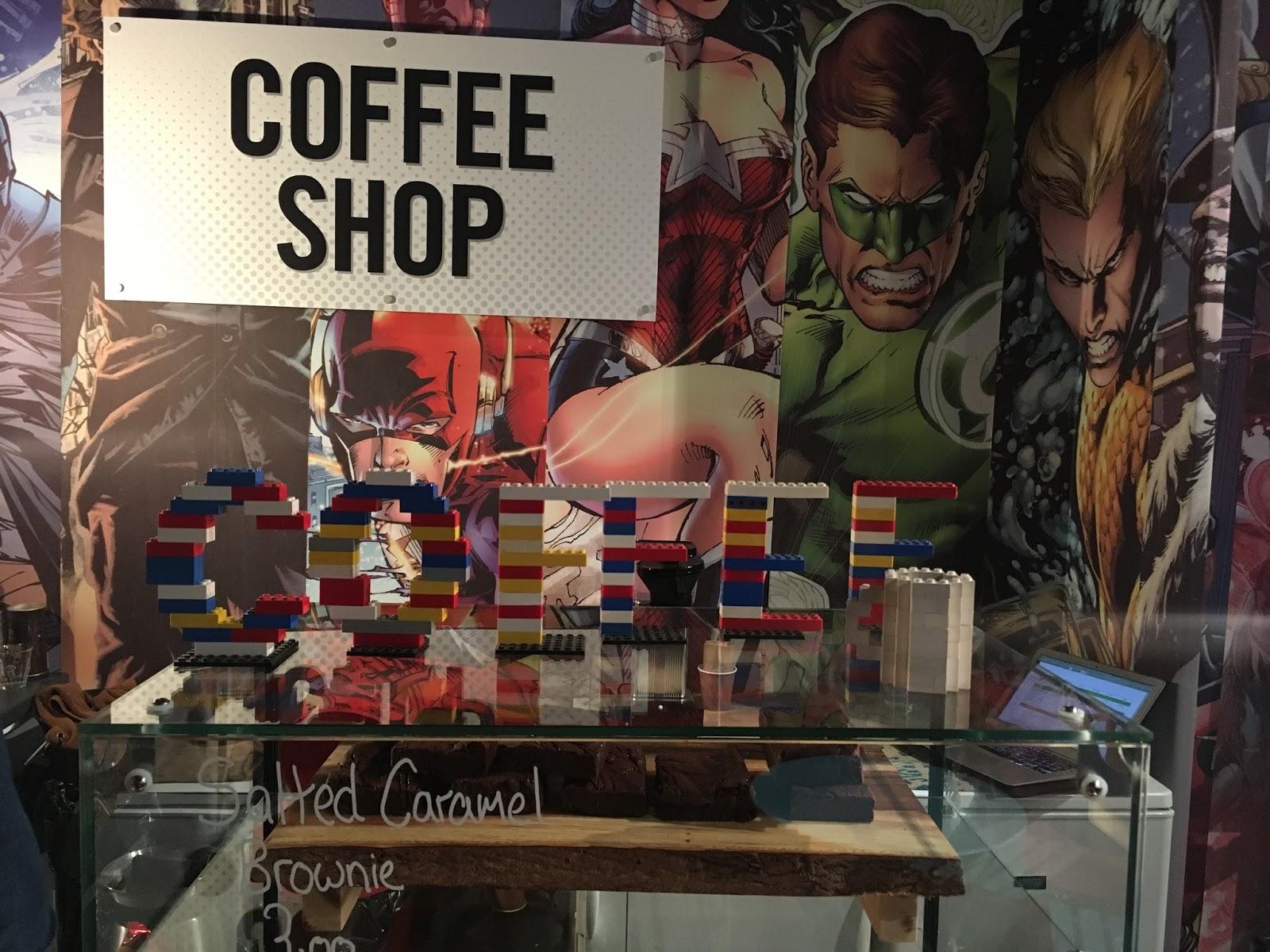 DC coffee shop sign