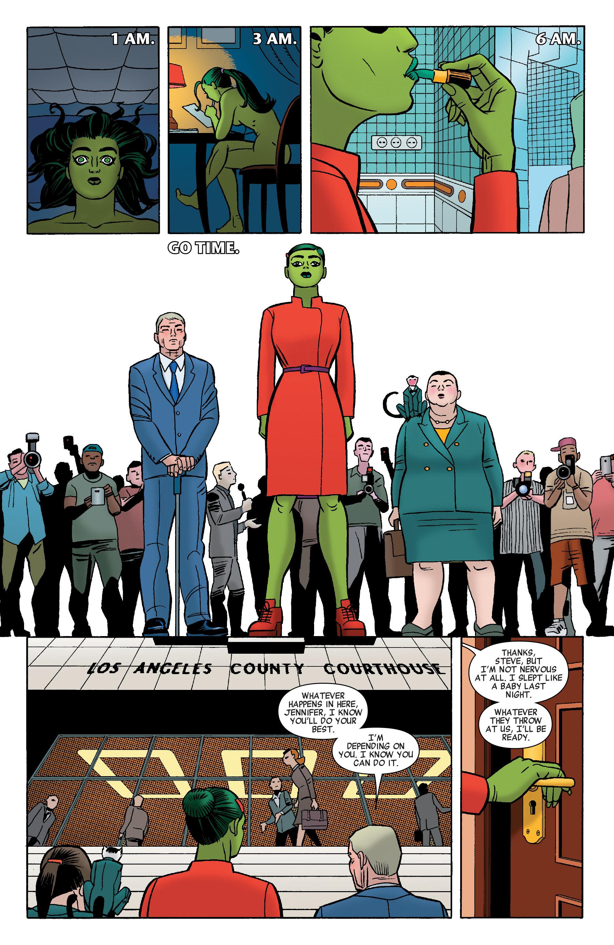 Read online She-Hulk (2014) comic -  Issue #8 - 20