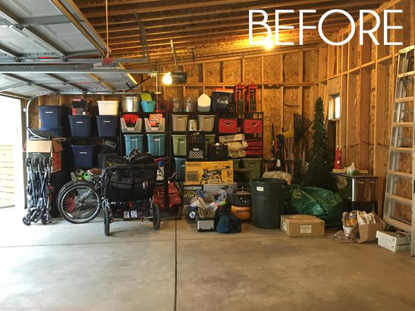 Garage Room one room challenge} week 1: garage makeover plans | blue i style