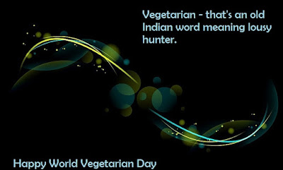 Vegetarian Day Wishes