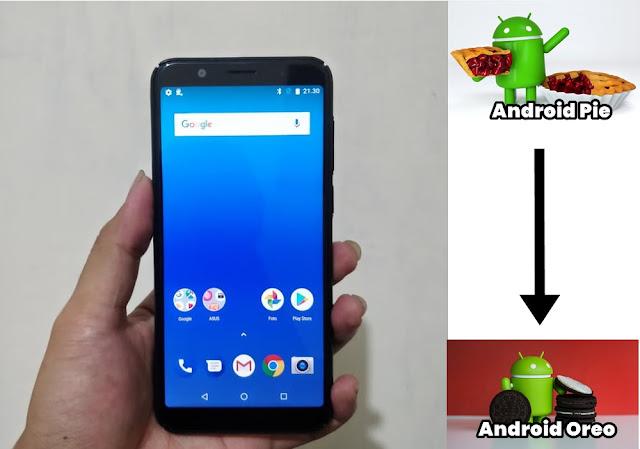 Cara Downgrade Versi Android Pie ke Android Oreo untuk Asus Zenfone Max Pro M1 ZB602KL