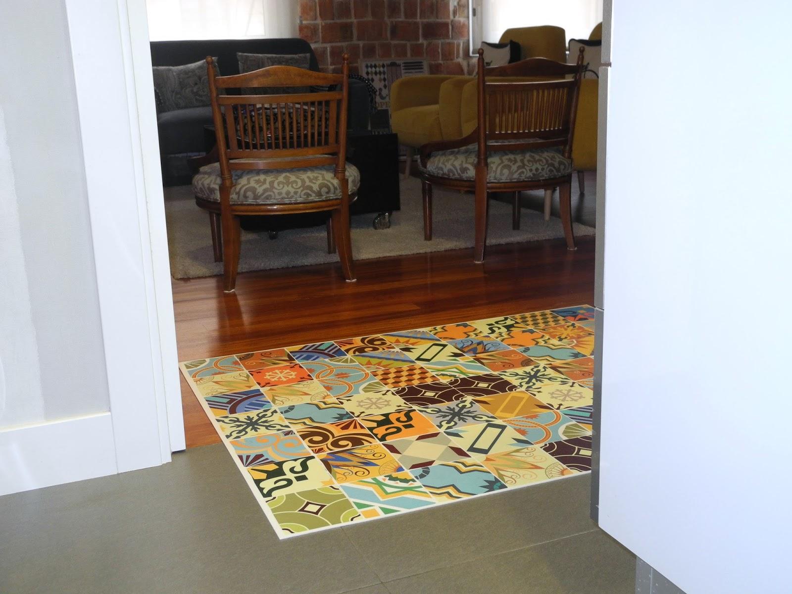 Naifandtastic decoraci n craft hecho a mano restauracion muebles casas peque as boda una - Alfombras vinilicas floorart ...