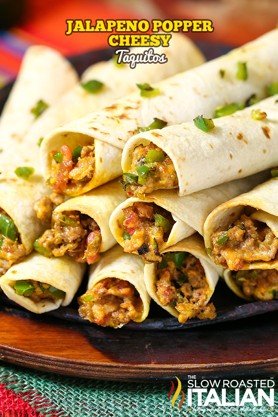 http://www.theslowroasteditalian.com/2014/09/jalapeno-popper-taquitos-recipe.html