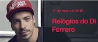 Promoção Relógios do Di Ferrero do NX Zero na Mix FM
