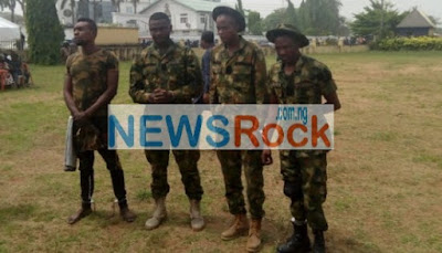 5 Fake Soldiers On Escort With A Politician Arrested in Imo