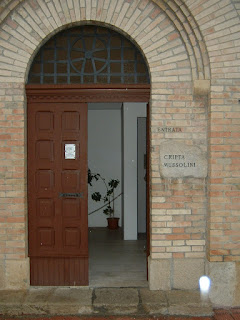 The Mussolini crypt can be found within the cemetery at Predappio
