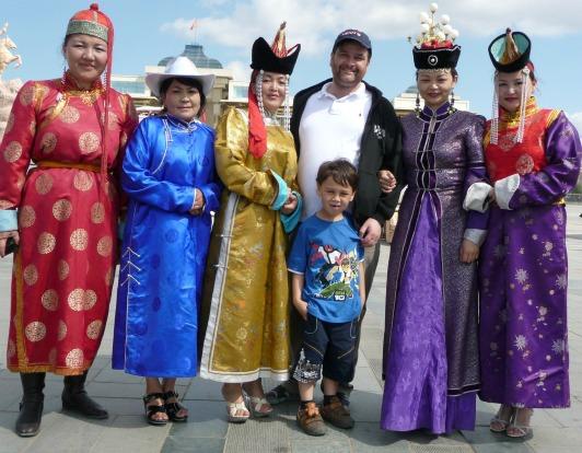 Mongolia national dress