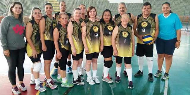 Equipe de Jacupiranga fica em 1º lugar em Festival de Vôlei Adaptado