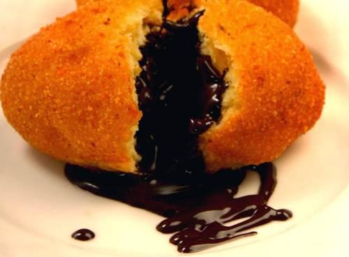 Cara Membuat Roti Tawar Goreng Isi Coklat Lumer