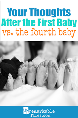 When you have multiple children, you notice something funny. Around Baby #4, things change. Your experience of having and taking care of babies is totally different now. You're an experienced parent. And expert parents are very different from rookies. #babies #kids #bigfamily #largefamilies #lotsofkids #multiplechildren #parenting #humor #laugh #firstbaby #unremarkable files