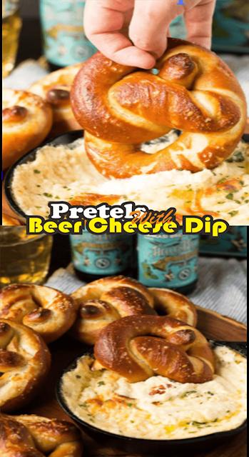 Pretels With Beer Cheese Dip