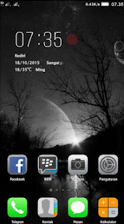 Theme iOS Lenovo A7000