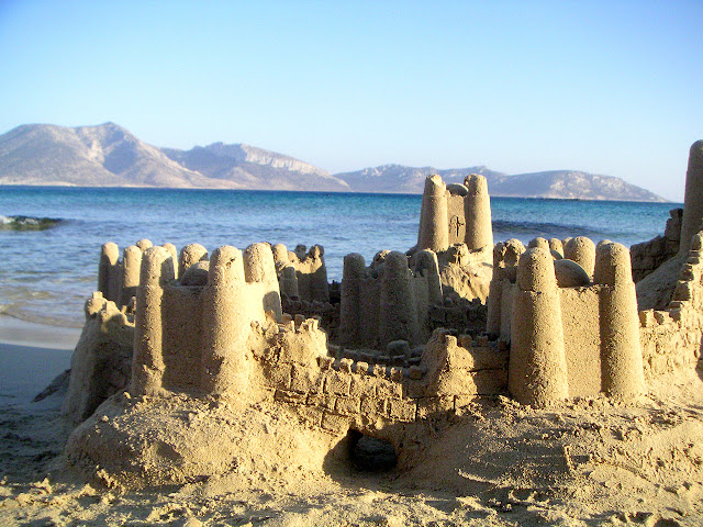 Sand Castle, by emmanouel V