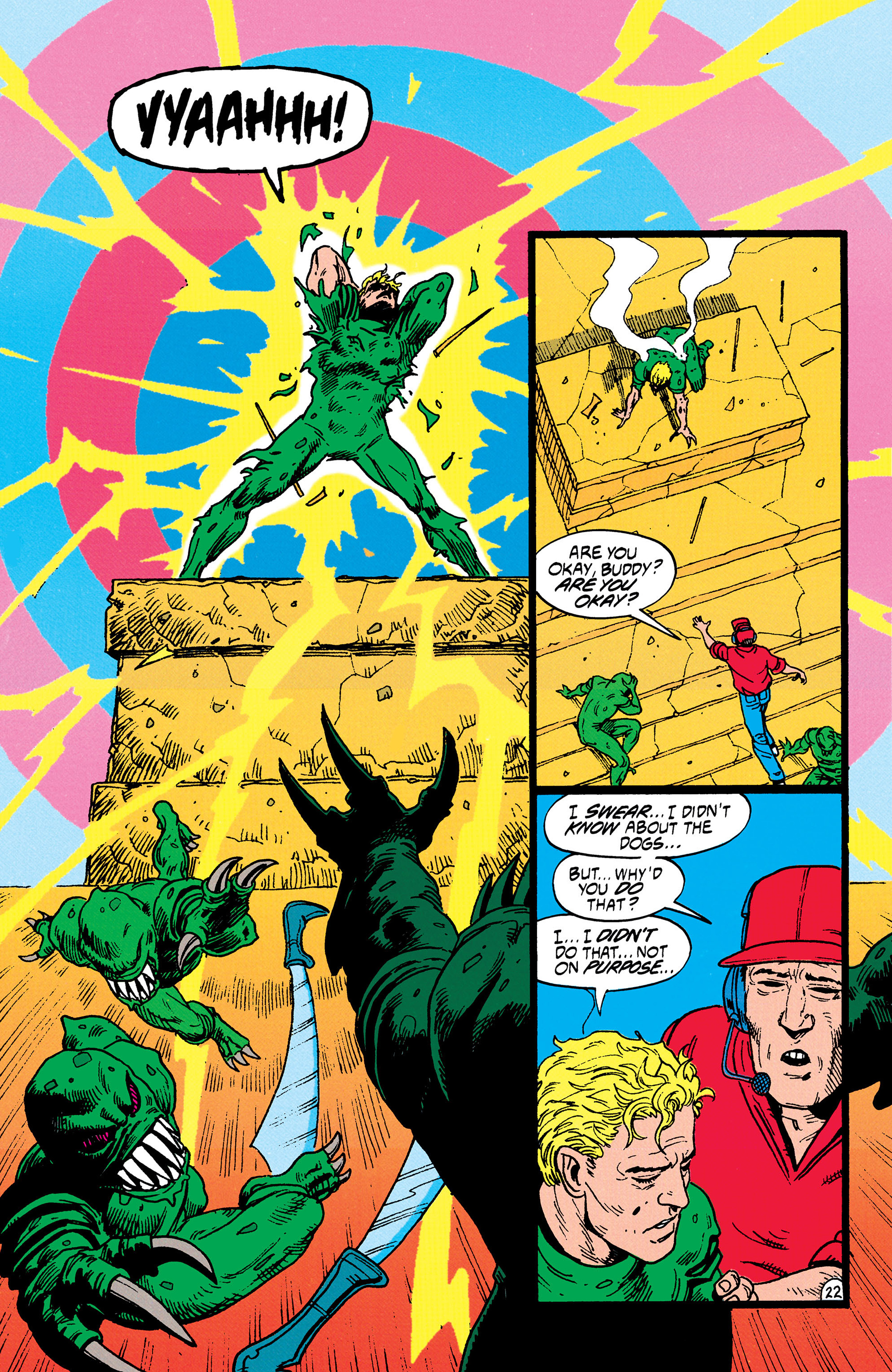 Read online Animal Man (1988) comic -  Issue #35 - 23