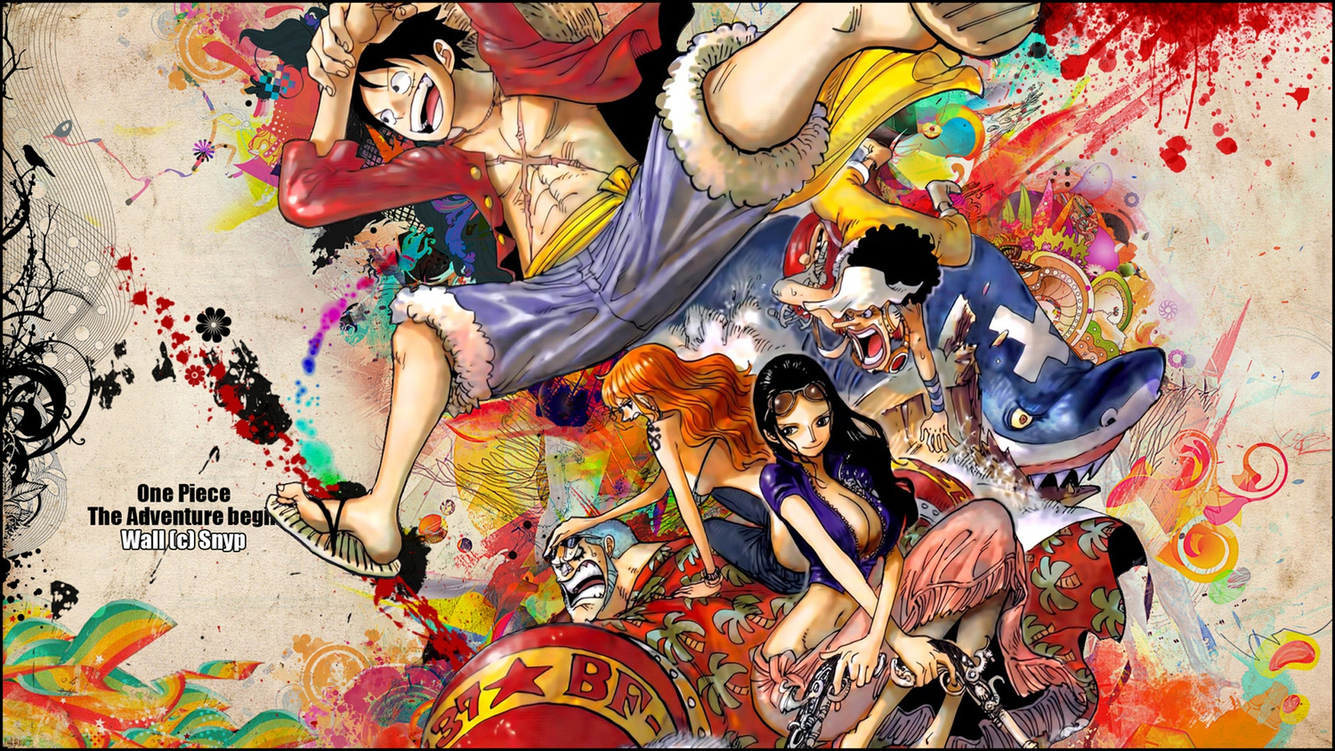 Pic new posts one piece wallpaper hd free download - One piece wallpaper ...