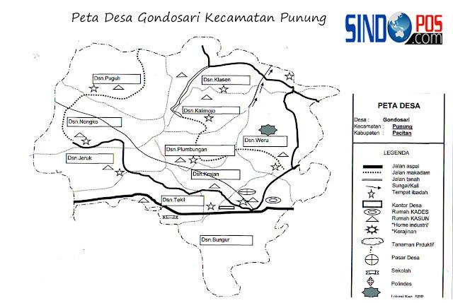 Desa Gondosari Kecamatan Punung Kabupaten Pacitan