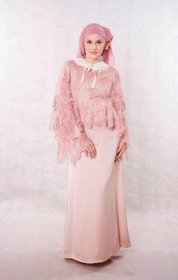 Gambar Model Gaun Muslim Wanita Modern Terbaru