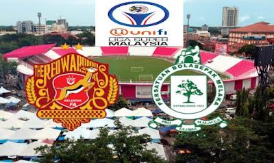 Live Streaming Kelantan vs Melaka United Liga Super 14.7.2018