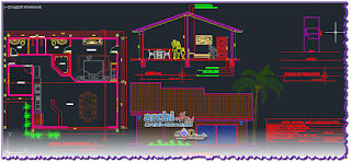download-autocad-cad-dwg-file-one-family-housing-JUAN