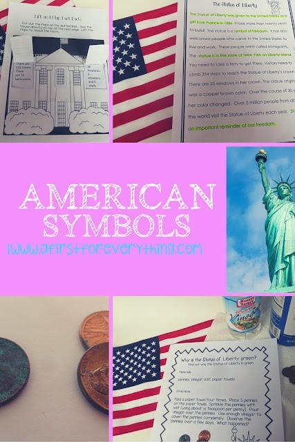 American Symbols: ELA, science, social studies, crafts, and more!