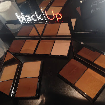 black|Up Contouring Powder at The Makeup Show New York 2016 - www.modenmakeup.com