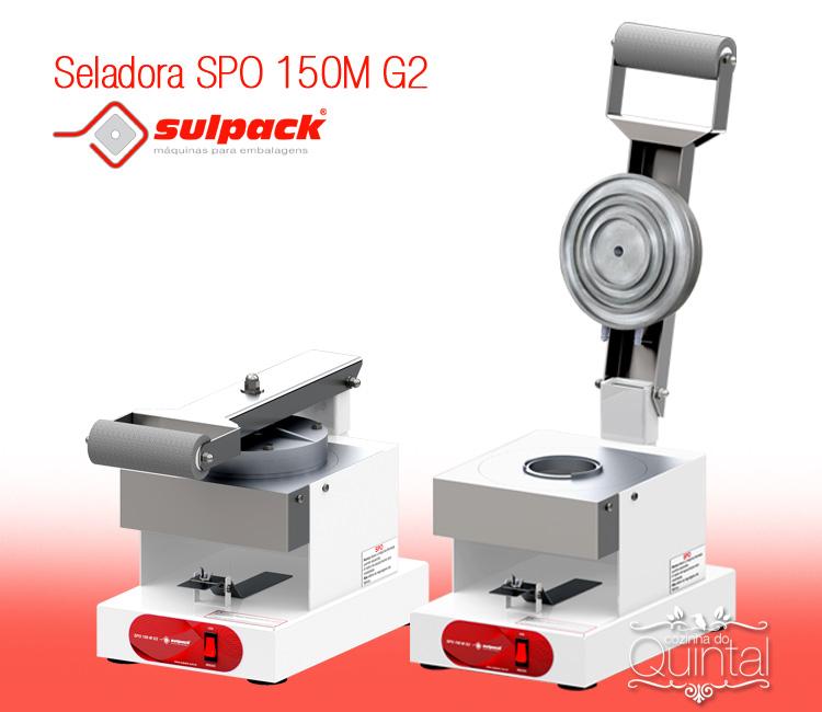 Seladora SPO 150M G2 da Sulpack na Cozinha do Quintal