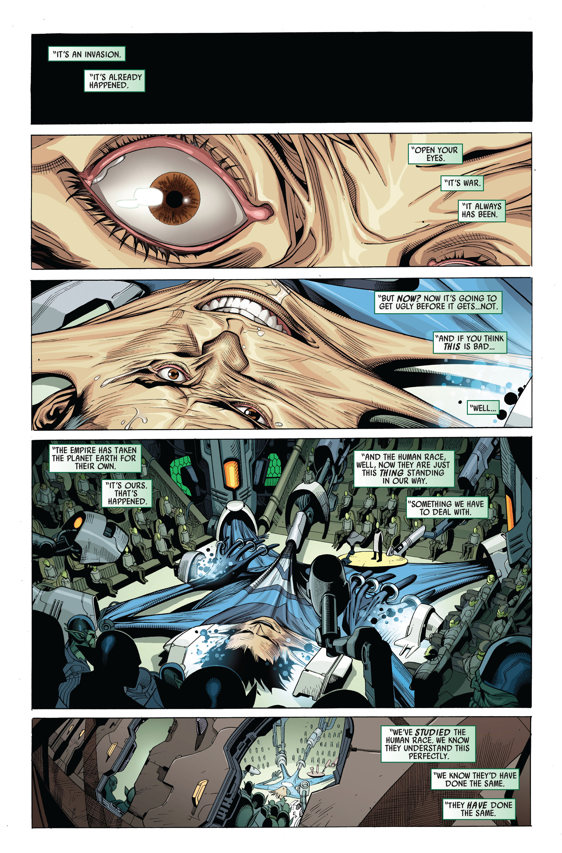 Read online Secret Invasion comic -  Issue #4 - 3
