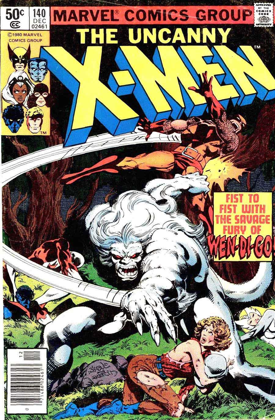 X-men v1 #140 marvel comic book cover art by John Byrne