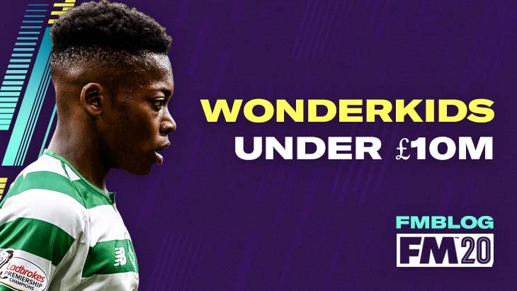 7 FM20 Wonderkids Who Could Cost Less Than £10m