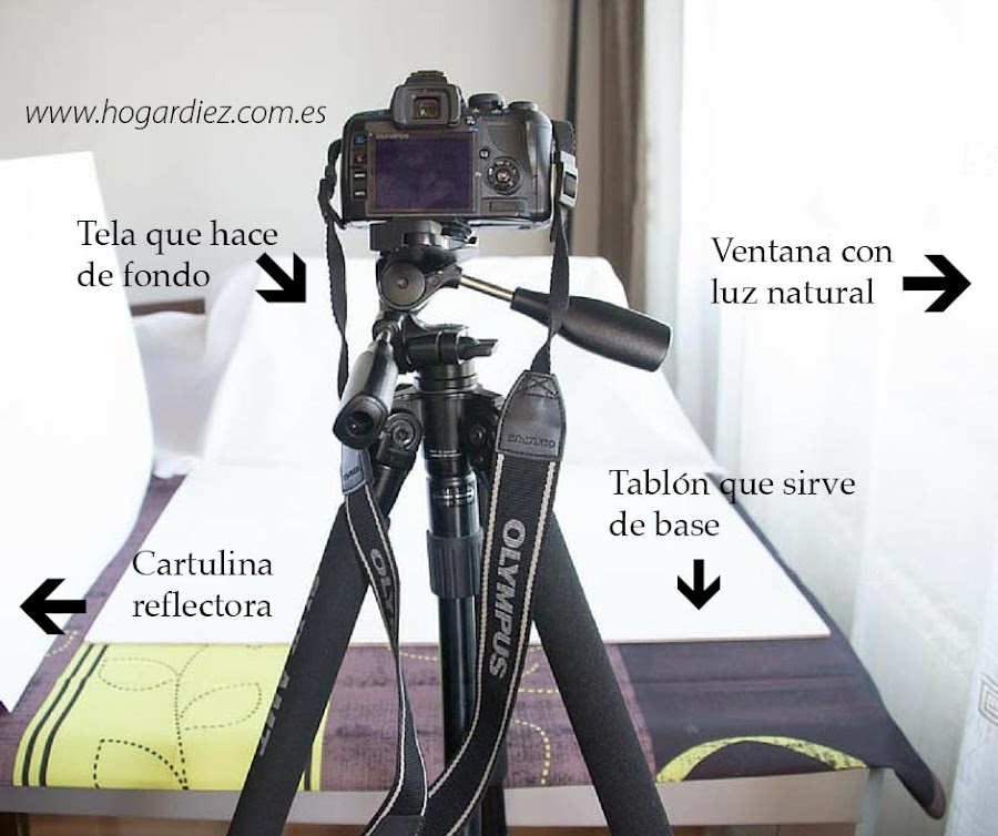 Estudio casero de fotografía