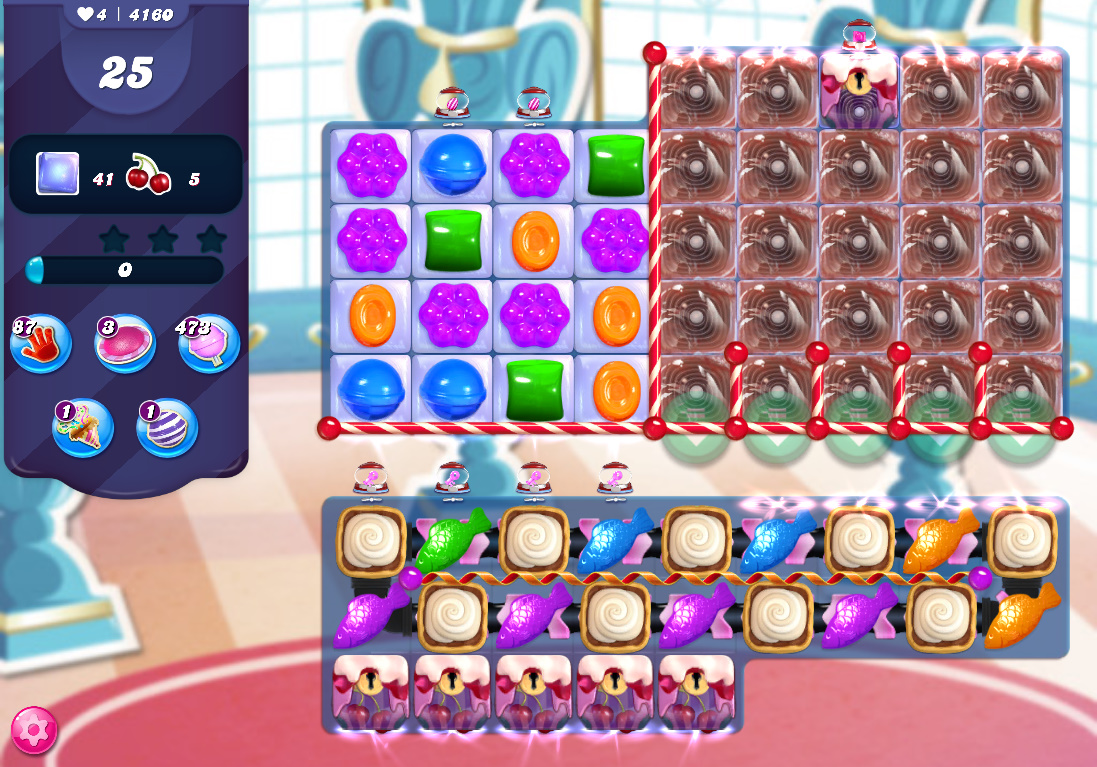 Candy Crush Saga level 4160