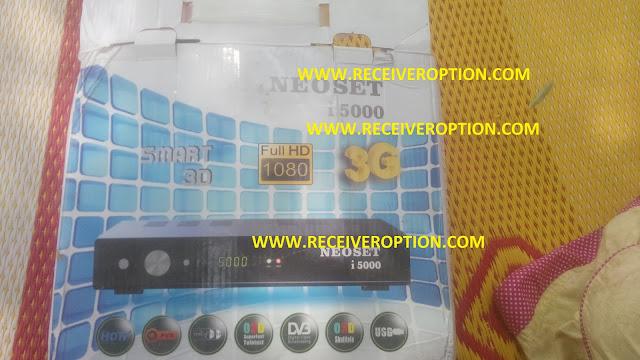 NEOSET I 5000 HD RECEIVER DUMP FILE