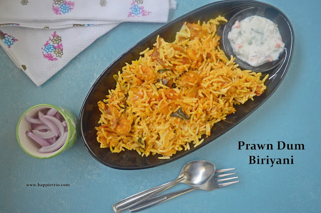 Prawn Dum Biryani Recipe
