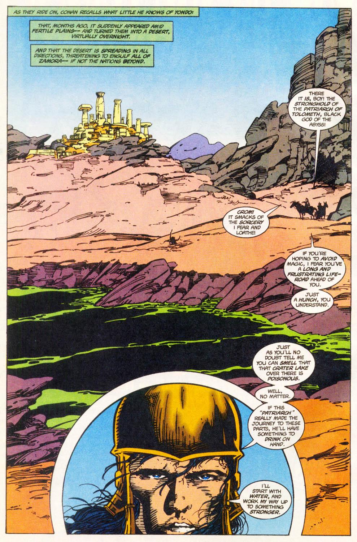 Read online Conan the Adventurer comic -  Issue #12 - 6